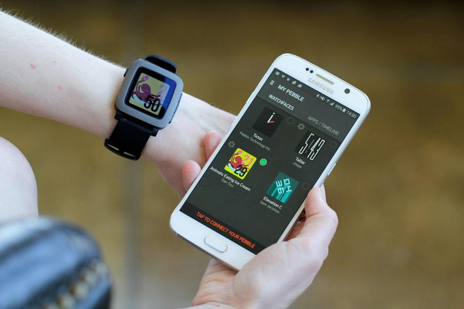 Pebble-Time-phone-sync digital trends